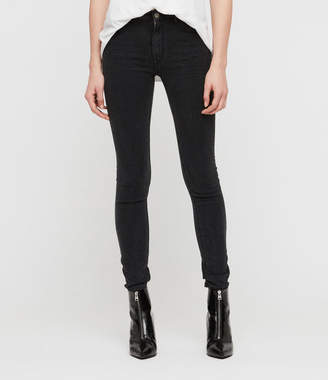 AllSaints Stilt High Waisted Skinny Jeans