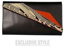 Kzeniya Medium leather bag