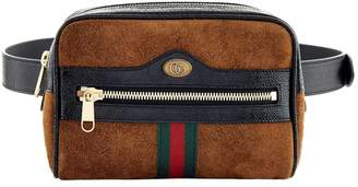 Gucci Small Suede Ophidia Belt Bag