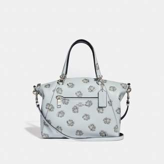 Coach Prairie Satchel With Rose Print