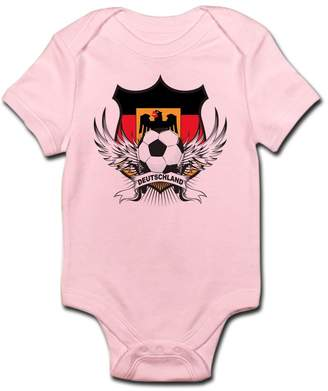 CafePress - Germany World Cup Soccer - Cute Infant Bodysuit Baby Romper