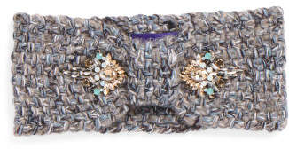 Jeweled Bow Headwrap