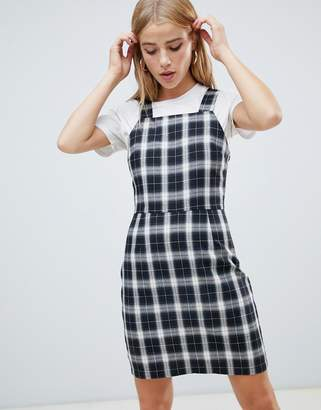 Daisy Street wide strap cami dress in retro check