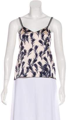 Rozae Nichols Sleeveless Silk Blouse w/ Tags