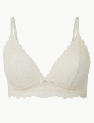 Marks and Spencer Crochet Lace Non-Padded Bralet