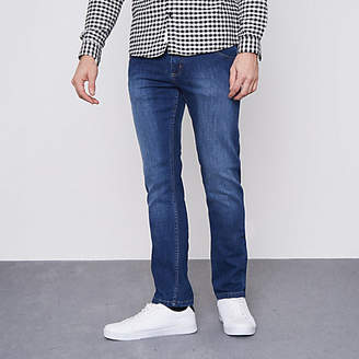 Monkee Genes dark blue slim fit jeans