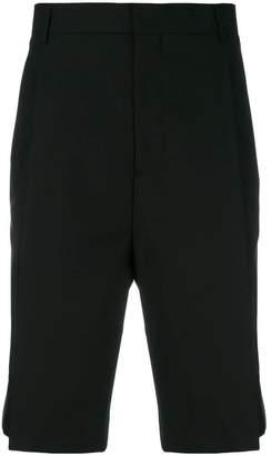 Les Hommes tuxedo bermuda shorts