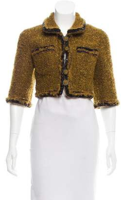 Chanel Bouclé Cropped Jacket