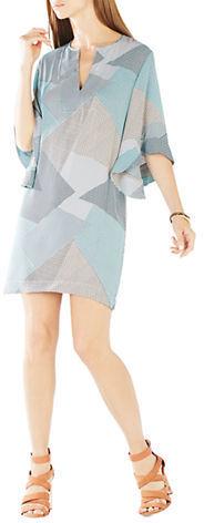 BCBGMAXAZRIABcbgmaxazria Tati Ruffle-Sleeved Dress