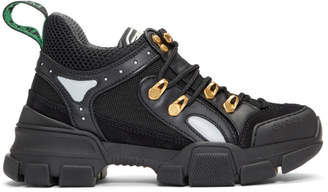 Gucci Black Flashtrek Chunky Sneakers