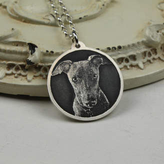 Nicola Crawford Personalised Dog Photo Necklace