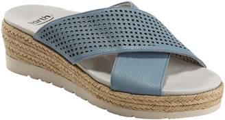 Earth R) Marigold Espadrille Slide Sandal