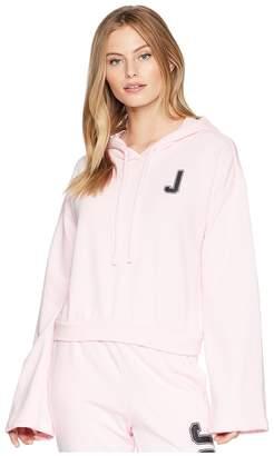 Juicy Couture J Pullover Hoodie Women's Sweatshirt