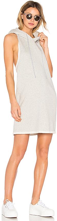 Hudson Jeans Hoodie Sweatshirt Dress 4