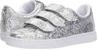 Puma Basket Strap Glitter Women's Shoes