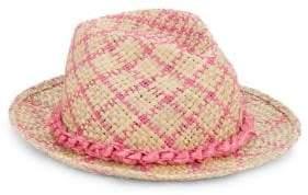 CIRRI CIRRI Louis Pink Woven Fedora