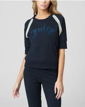 Juicy Couture JUICY GOTHIC FRENCH TERRY PULLOVER