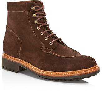 Grenson Grover Brown Suede Boots $370 thestylecure.com