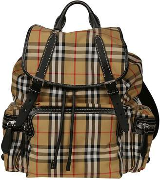 Burberry Large Vintage Check Backpack