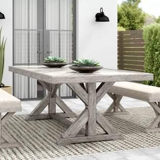 One Allium Way Astudillo Aluminum Dining Table