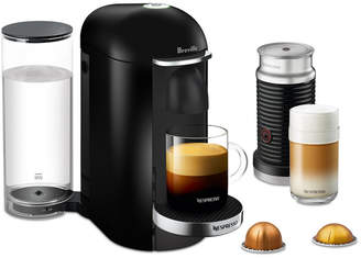Nespresso Breville VertuoPlus Deluxe Coffee & Espresso Maker with Frother