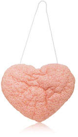 One Love Organics The Cleansing Sponge - French Pink Clay Heart Shape