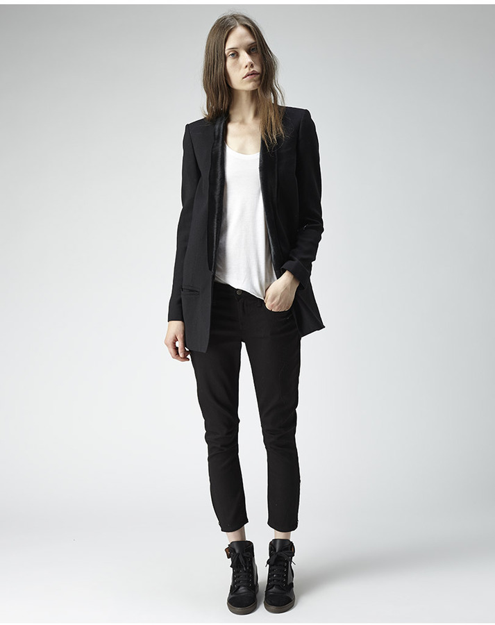 Helmut Lang long suit blazer