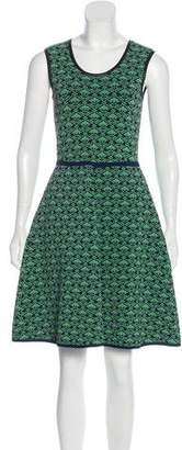 Yigal Azrouel Patterned A-Line Dress