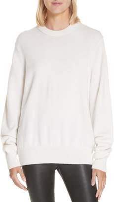 Helmut Lang Ring Shoulder Cashmere Sweater