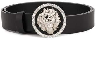 Versus Lion embellished belt