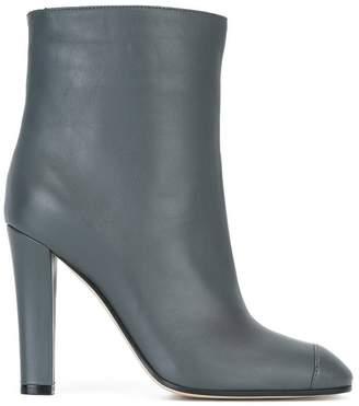 Agnona round toe boots