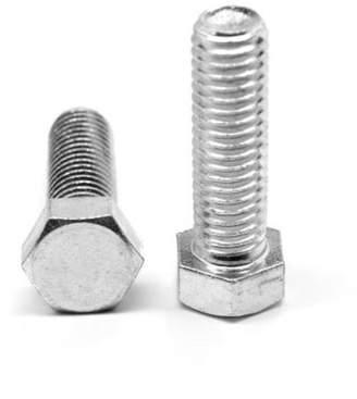 ASMC Industrial 0.31in. -18 x 2.75 in. - FT Coarse Threaded Grade 5 Hex Tap Full Threaded Bolt, Medium Carbon Steel - Zinc Plated - 100 Piece