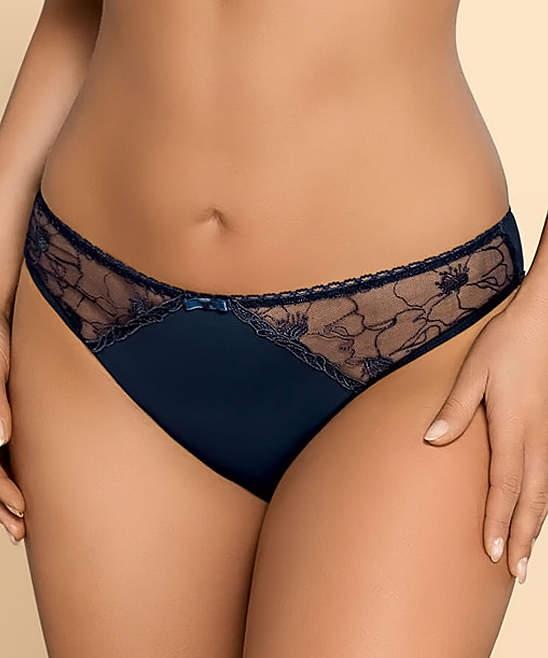 Blue Lorena Briefs - Women, Plus & Petite Plus