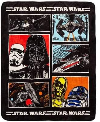 "Star Wars Classic Grid 50"" x 60"" Throw"