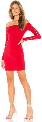 by the way. Alliza Zip Sleeve Mini Dress