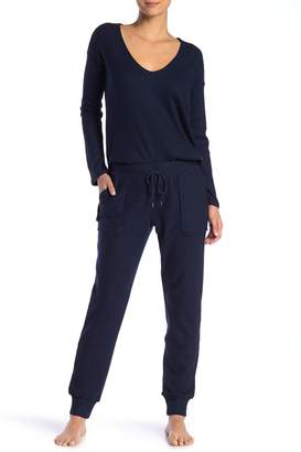 French Connection Ribbed Knit Jogger