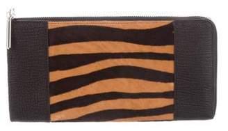 3.1 Phillip Lim Animal Print Leather Wallet