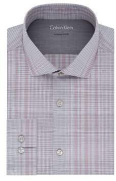 Calvin Klein Check Extra Slim-Fit Dress Shirt