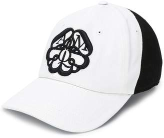 Alexander McQueen logo patch cap