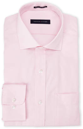 Tommy Hilfiger Petal Solid Regular Fit Dress Shirt