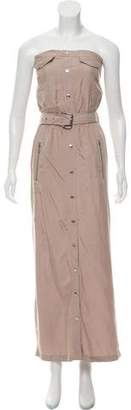 MICHAEL Michael Kors Strapless Belted Dress