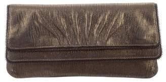 Lauren Merkin Iridescent Leather Clutch