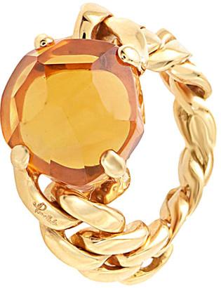 Pomellato 18K Rose Gold Quartz Ring