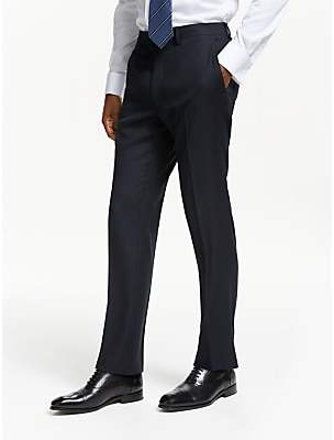 c0e12ee40f0f John Lewis   Partners Birdseye Wool Slim Fit Suit Trousers