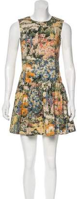 RED Valentino Floral Print Sleeveless Dress