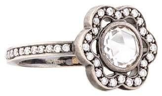 Solange Azagury-Partridge 18K Diamond Orbital Ring