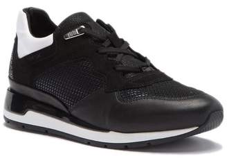 Geox Shahira Embellished Suede Sneaker