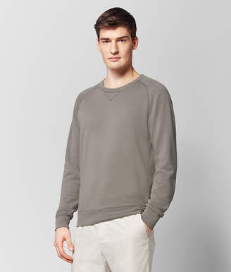 Bottega Veneta STEEL COTTON SWEATSHIRT