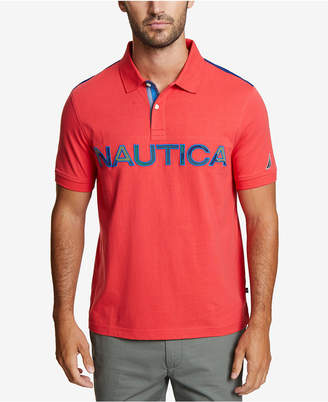 Nautica Men Kauai Logo Polo