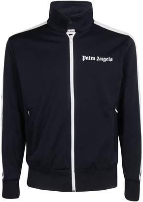Palm Angels Logo Print Jacket